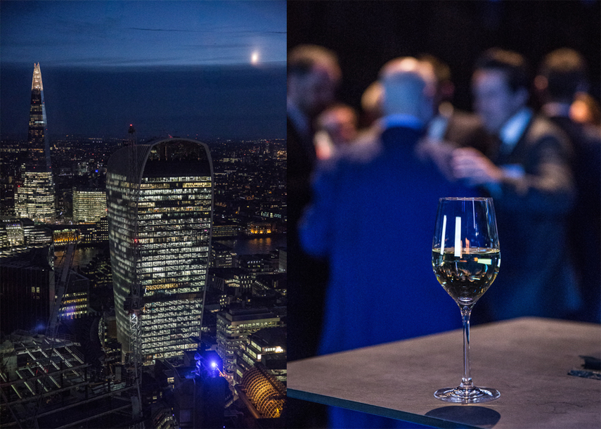 Photographer for Searcys at the Gherkin