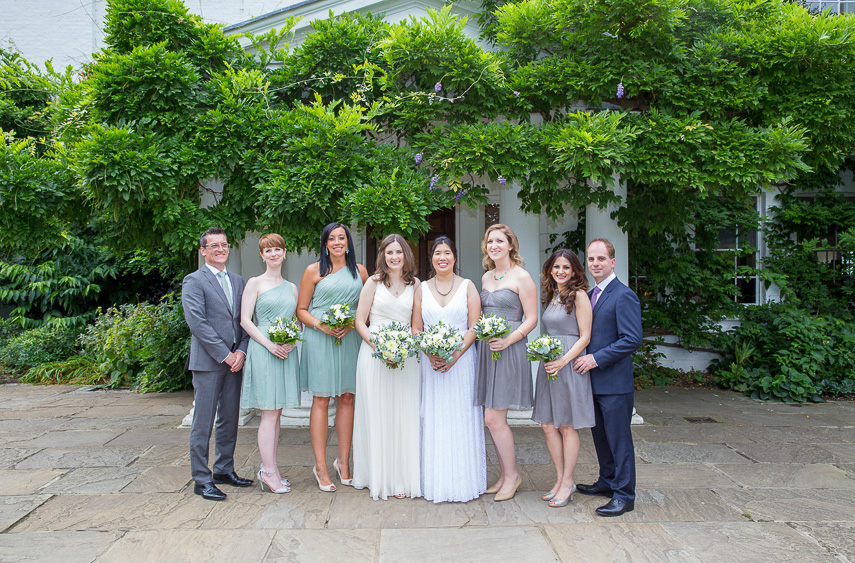 wedding photographer for Pembroke Lodge