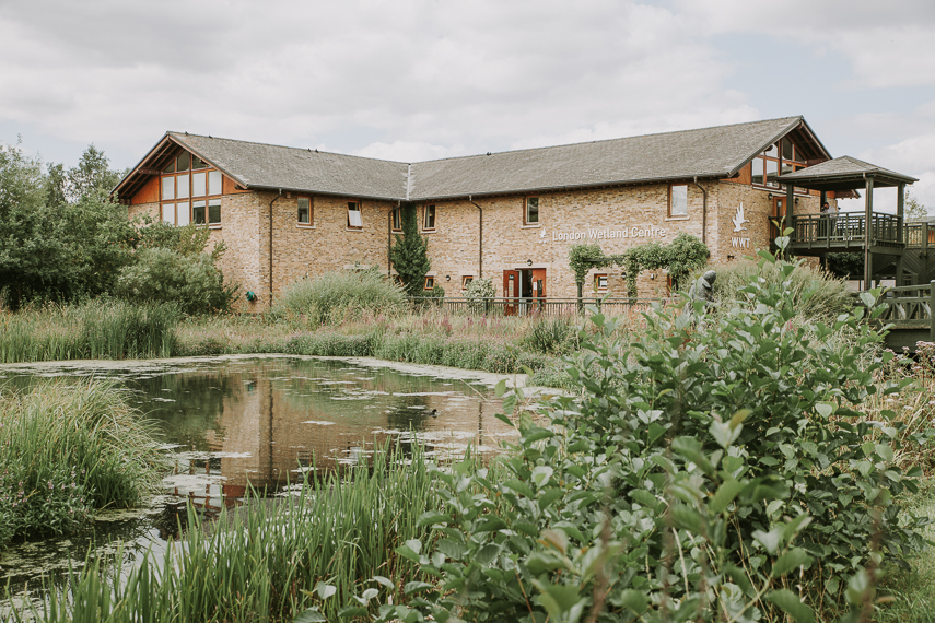 Planning a wedding at WWT London Wetland Centre