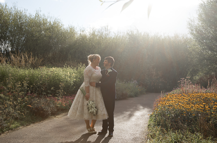 WWT London Wetland Centre wedding photography