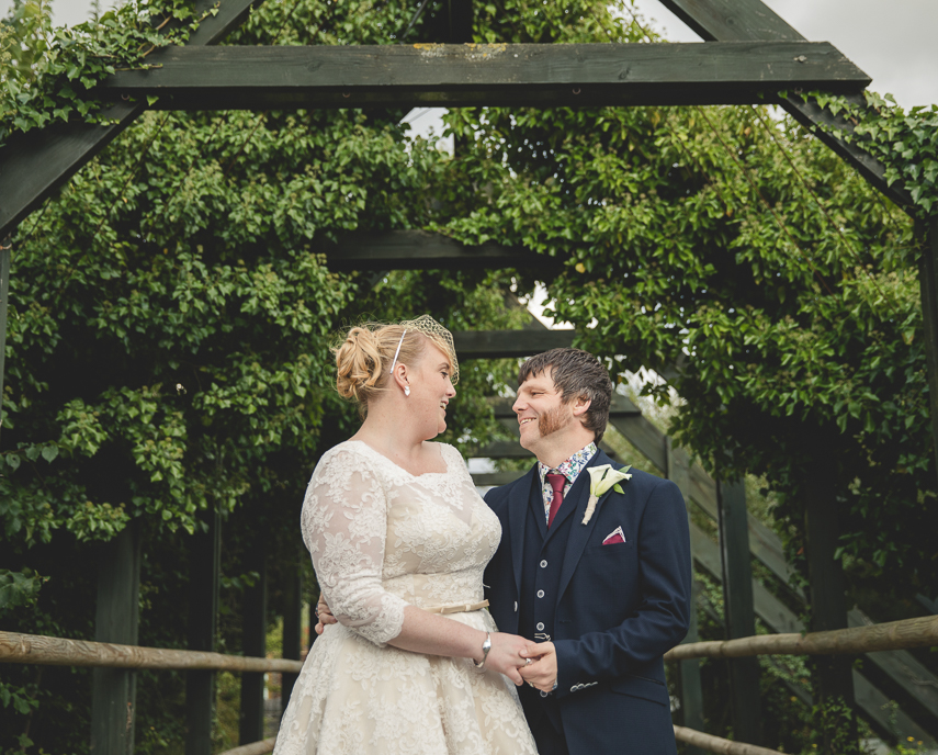 wedding photography at WWT London Wetland Centre Barnes