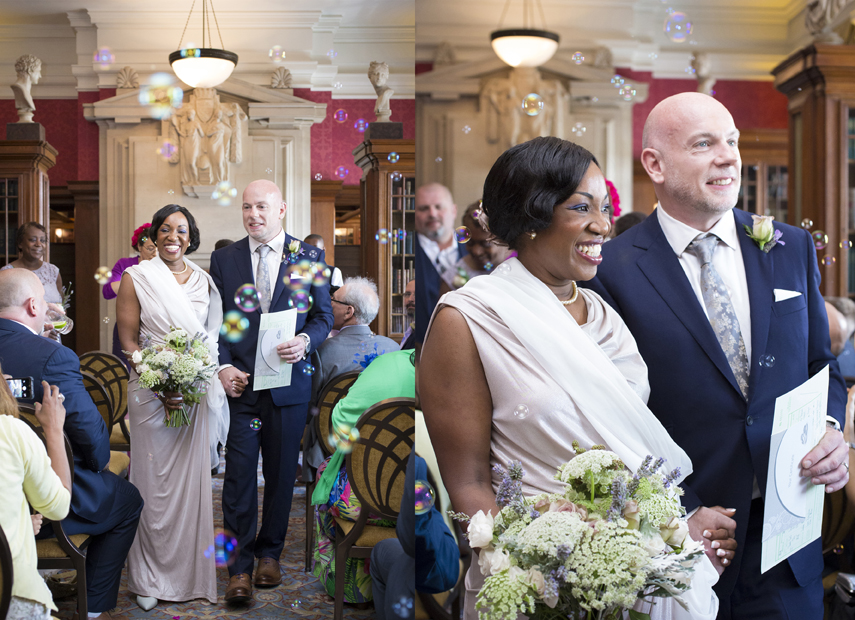 recommended wedding photographer Marriott Hotel County Hall London