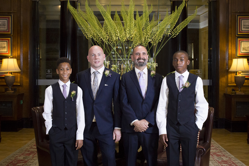 Marriott Hotel County Hall professional wedding photographer